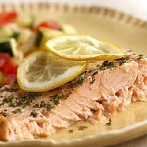 Baked Herb Salmon