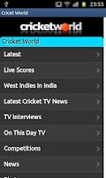 Screenshot of Cricket Launcher