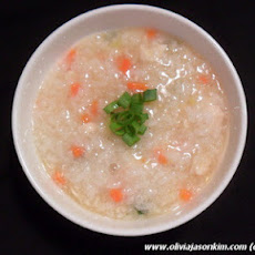 Korean Dak Juk (Chicken Porridge)