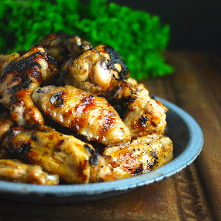 Garlicky Lemon Cuban Chicken Wings
