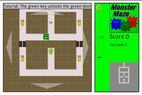 monster-maze for android screenshot