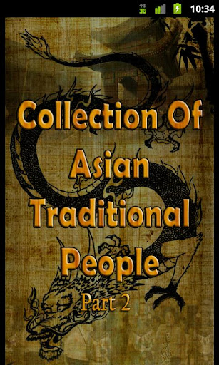 Asian Traditional People Part