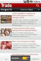 Screenshot of Trade Magazin Mobil