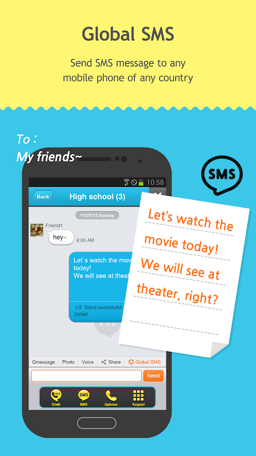 Qtalk-Smart Shopping Messenger Screenshot 1