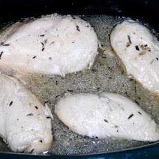 Crock Pot Lemon-Rosemary Chicken
