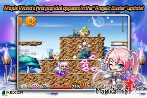 Screenshot of MapleStory Live Deluxe
