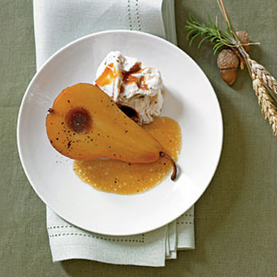 Honey-Roasted Bosc Pears