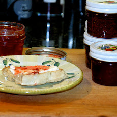 Hot Pepper Jelly and Cream Cheese Dip