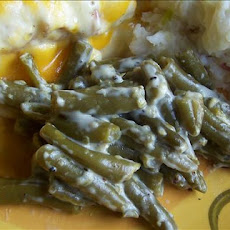Creamy Green Beans (1 Ww Point)