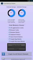 Screenshot of Total Memory Cleaner