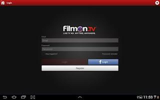 Screenshot of FilmOn EU Live TV Chromecast