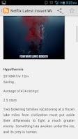 Screenshot of New Releases for Netflix