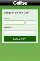 Screenshot of Golf Starttid