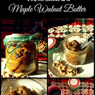 Homemade Maple Walnut Butter
