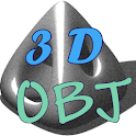OBJ visualizador 3D icon