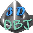OBJ Viewer 3D icon