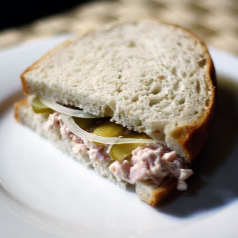 Deviled Ham Salad Sandwiches