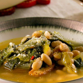 Escarole and White Bean Soup