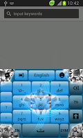 Screenshot of Crystal Keyboard