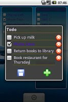 Screenshot of To-Do List Widget