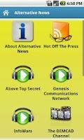 Screenshot of Alternative News