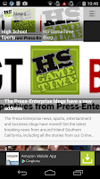 Screenshot of Inland HS GameTime