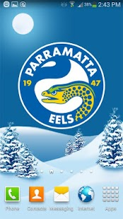 Parramatta Eels Snow Globe - screenshot