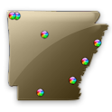 Arkansas Fishing Maps - 8,900 icon