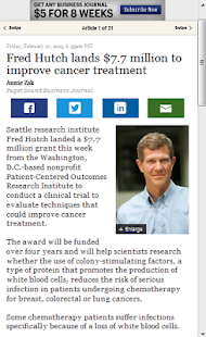 Cancer Treatment News - screenshot