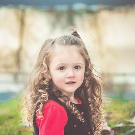 Hannah by Jenny Hammer - Babies & Children Children Candids ( girl, curls, cute, pretty, outside )