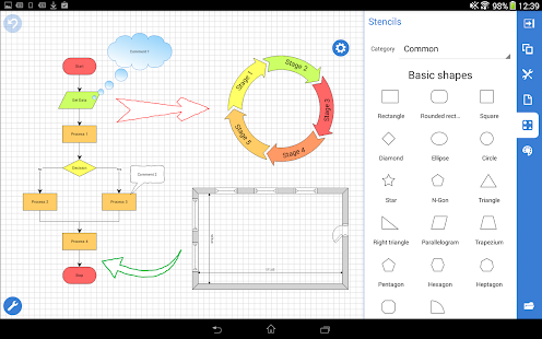 Grapholite Diagrams Pro screenshot for Android