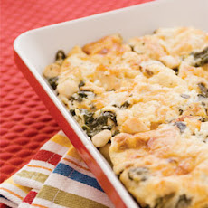 Chicken and Spinach Pasta Casserole