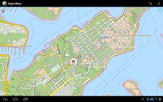 Screenshot of Offline Map Malta Gozo Comino