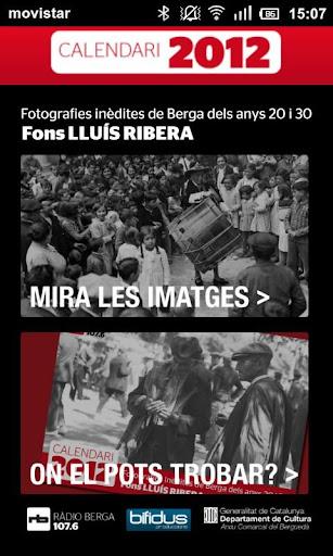 Calendari Ràdio Berga 2012