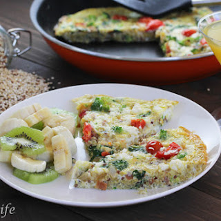 Liv's Power Frittata with Quinoa and Veggies