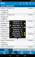 Screenshot of Serie A