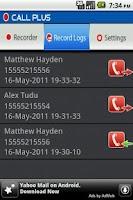 Screenshot of CallPlus