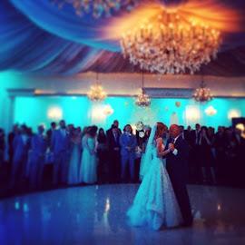 Beautiful bride dances with her father ❤️ by Julie Dabour - Wedding Reception ( brides, fatherdaughter, weddings, weddingday, jessandchriswedding, beautiful, dancing, weddingreception )