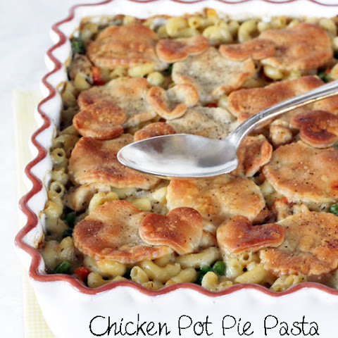 Baked Chicken Pot Pie Pasta