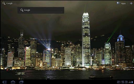 【免費個人化App】City Light Show Wallpaper Free-APP點子