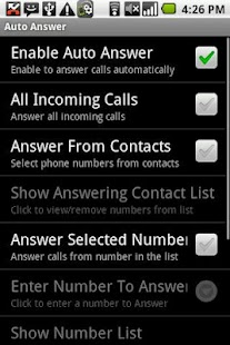 Manage Your Calls Free - screenshot