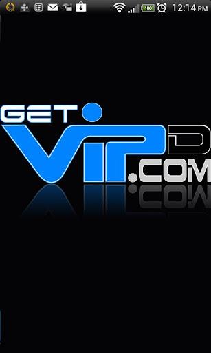BLUE Get VIPd Card