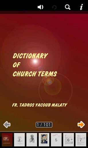 Dictionary of Church Terms