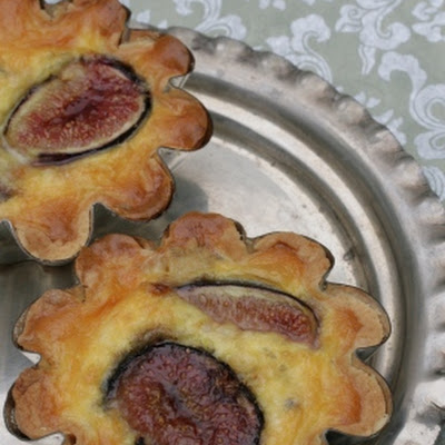 Fig And Blue Cheese Tartlets