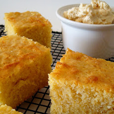 THE Cornbread and Fluffy Honey Butter