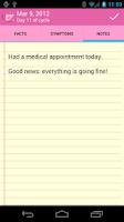 Screenshot of Menstrual Calendar Premium