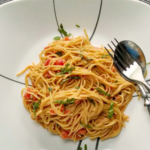 Pasta with Pomodoro Cream Sauce