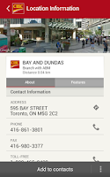 Screenshot of CIBC Mobile Banking®