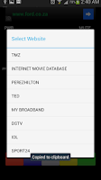 Screenshot of PVR Remote ( South Africa )