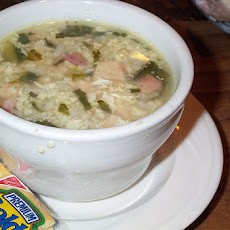 My Big Scrumptious Greek Wedding Soup